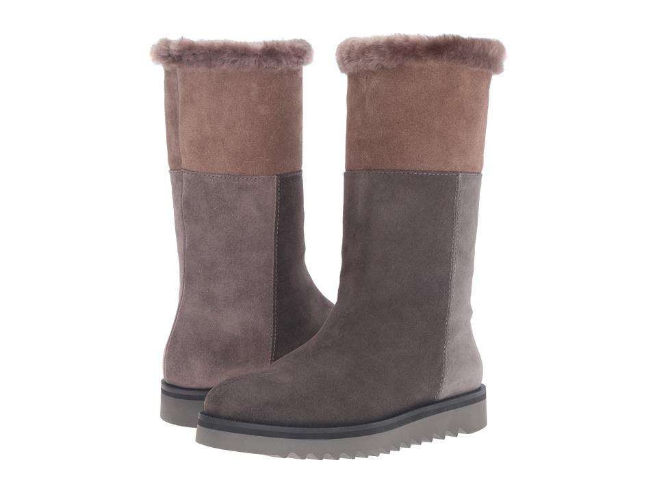 Aquatalia - Paulina (Graphite Combo Suede) Women's Boots