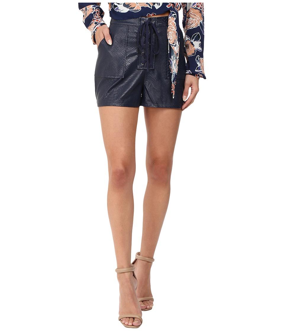 Lovers + Friends - Chrissy Shorts (Navy) Women's Shorts