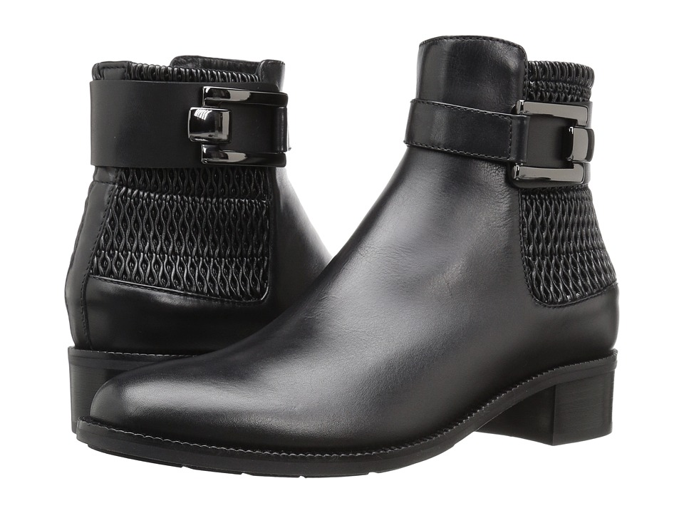 Aquatalia - Odette (Black Calf) Women's Boots