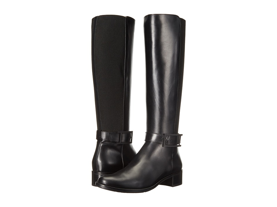 Aquatalia - Orella (Black Calf) Women's Boots