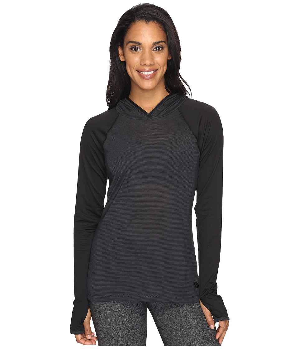 The North Face - Reactor Hoodie (TNF Dark Grey Heather/TNF Black (Prior Season)) Women's Sweatshirt