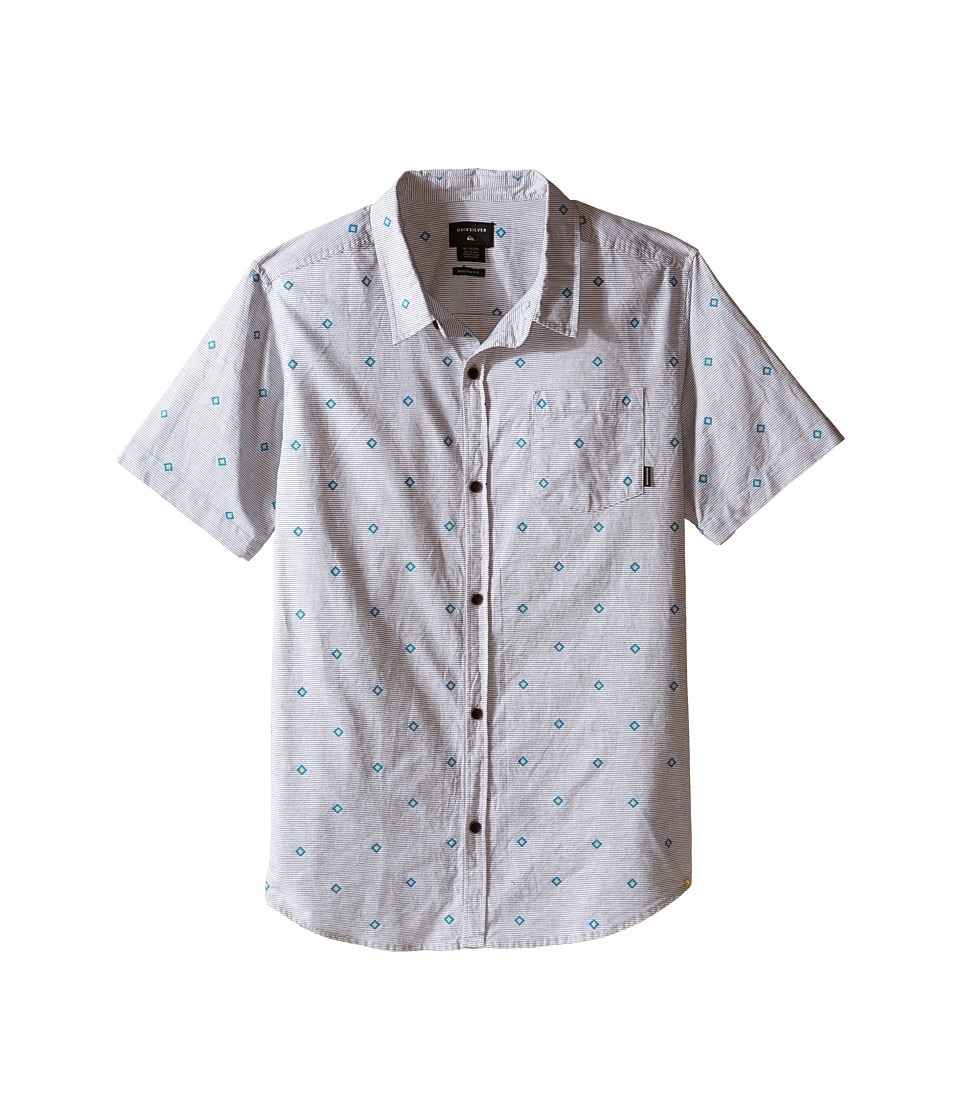 Quiksilver Kids - Dry Heat Shirt (Big Kids) (Tarmac) Boy's Clothing
