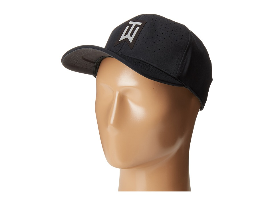 Nike Golf - Tiger Woods Classic99 Statement Cap (Black/Anthracite/Reflective Silver) Caps