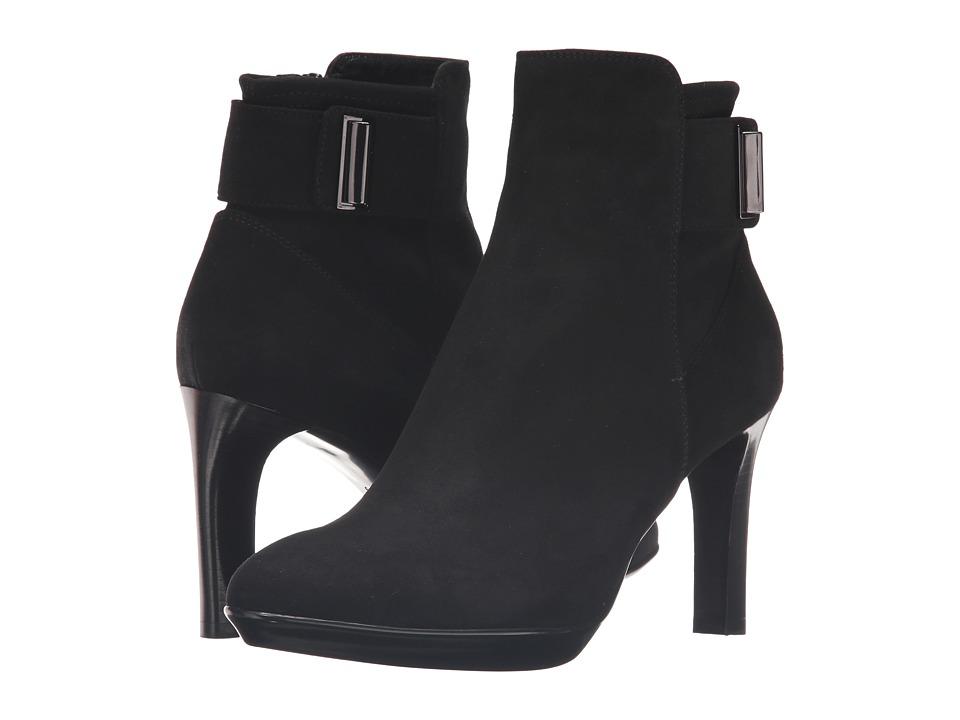 Aquatalia - Rochelle (Black Suede) Women's Boots