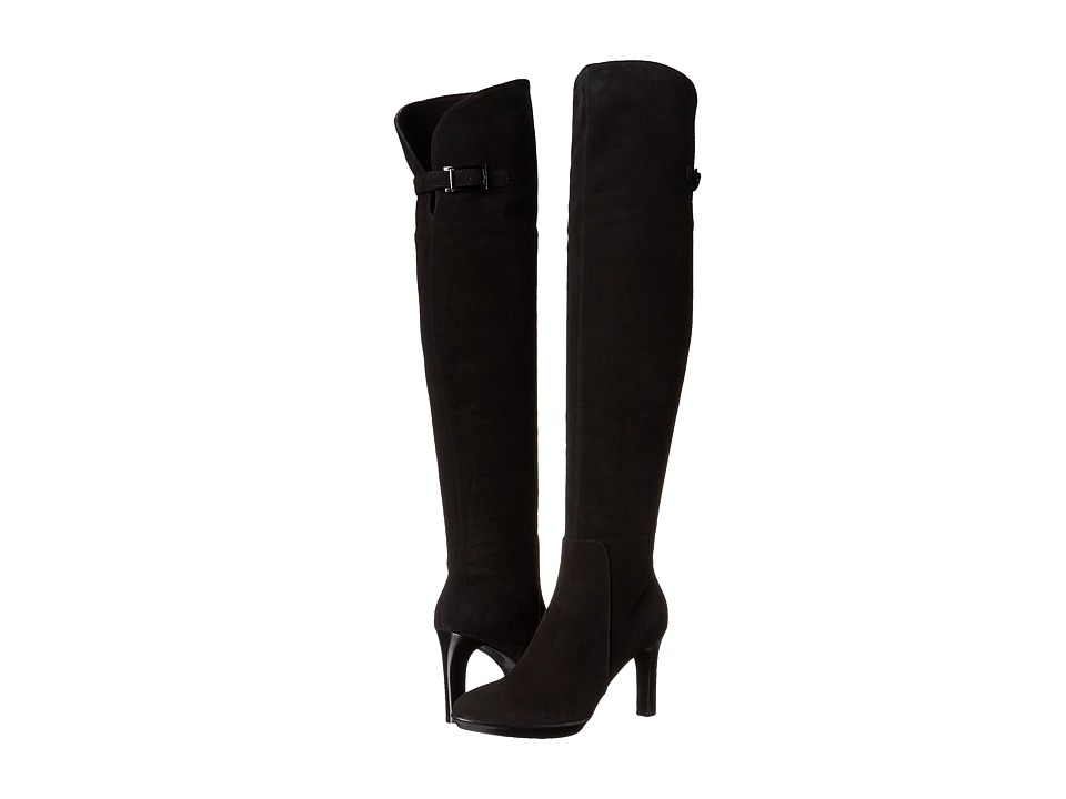 Aquatalia Raffaela (Black Suede) Women