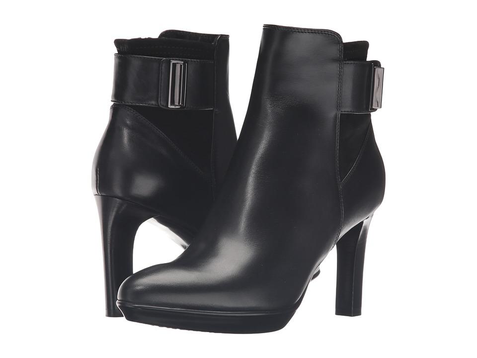 Aquatalia - Rochelle (Black Calf/Suede Combo) Women's Boots