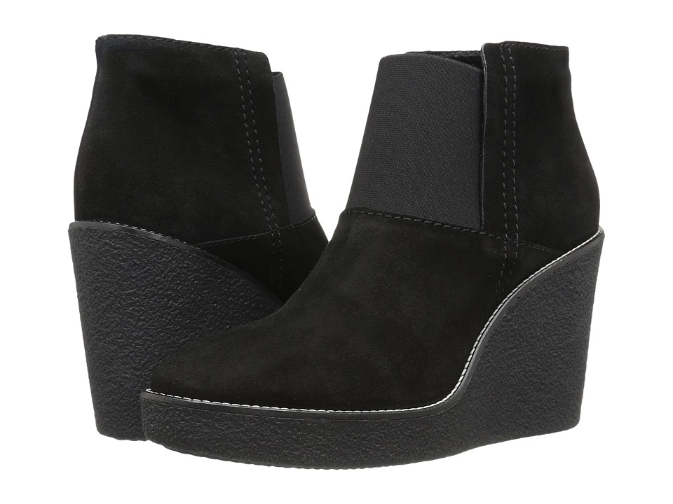 Aquatalia Veera (Black Suede) Women