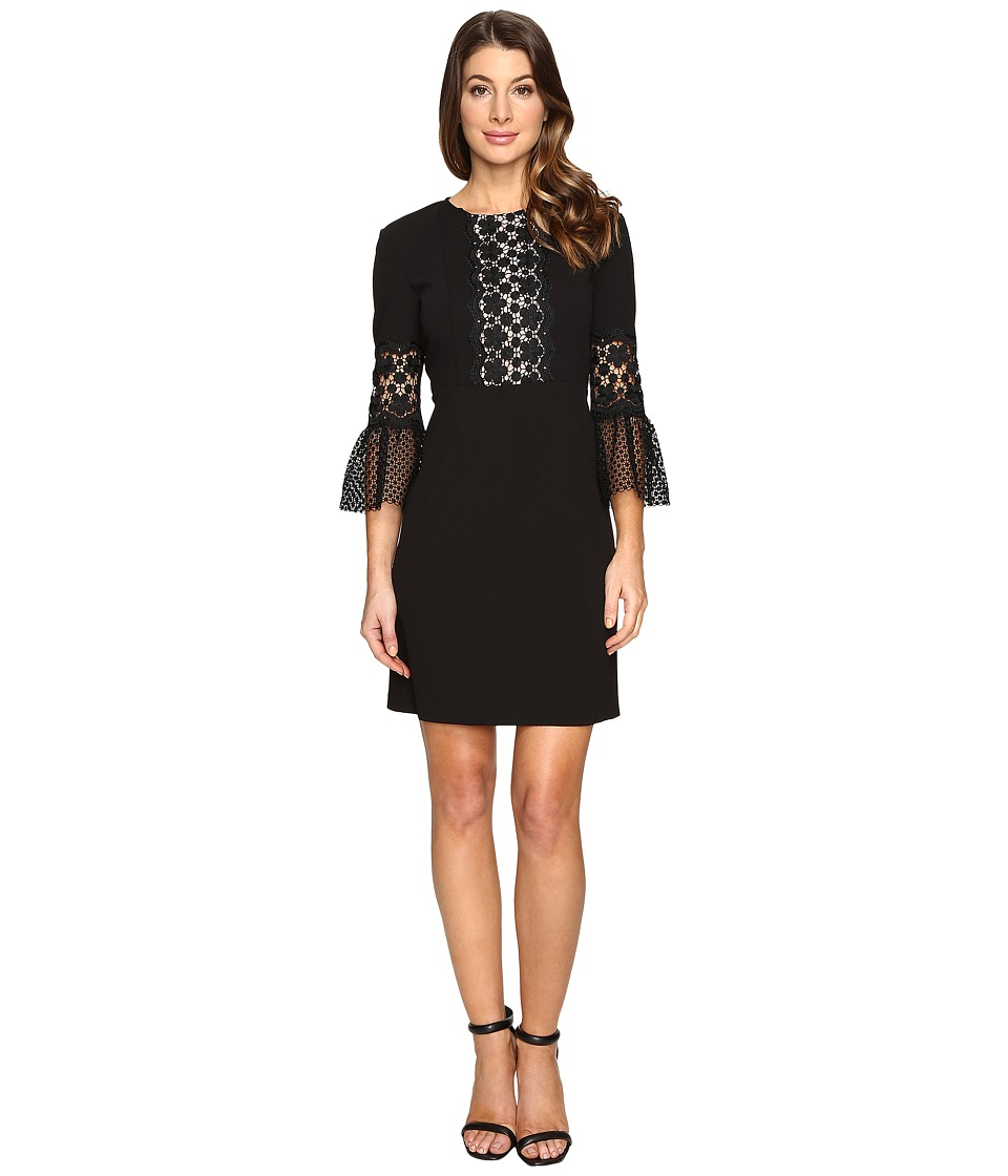 Donna Morgan - Bell Sleeve Sheath (Black) Women's Dress
