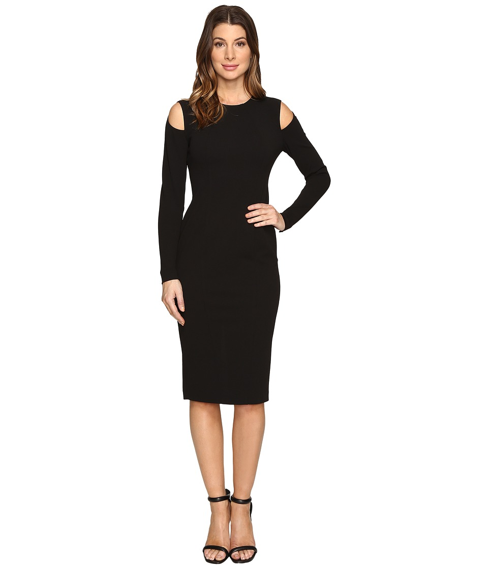 Donna Morgan - Cold Shoulder Bodycon Dress (Black) Women's Dress