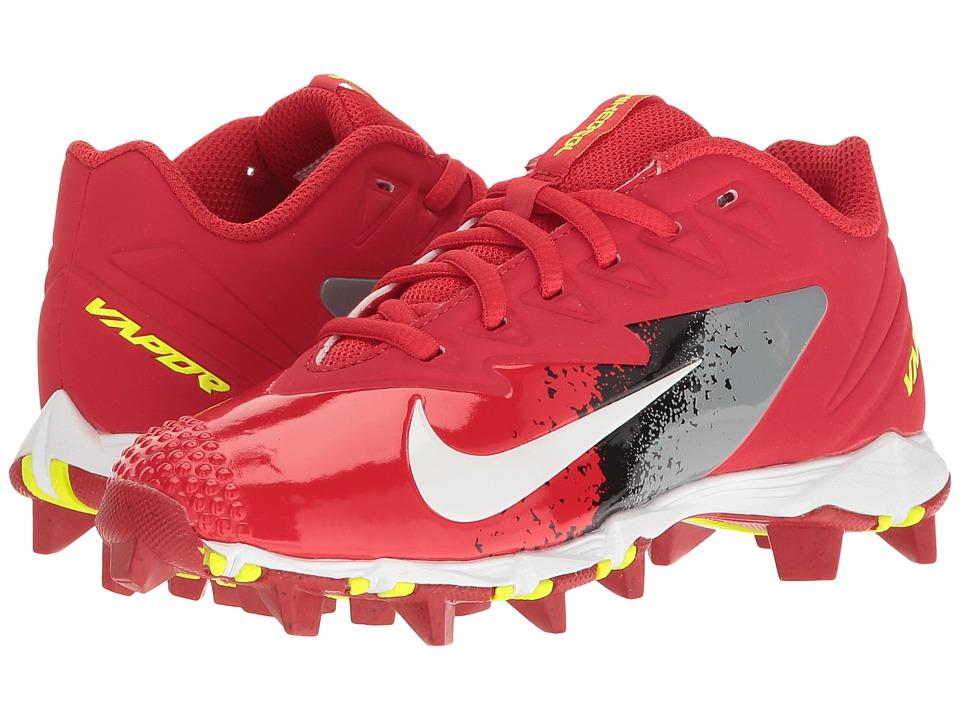 Nike Kids - VPR Ultrafly Keystone BG Baseball (Big Kid) (University Red/White/Cool Grey/Black) Kids Shoes