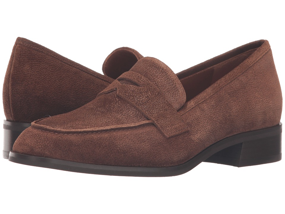 Aquatalia Sharon (Chestnut Pebbled Suede) Women