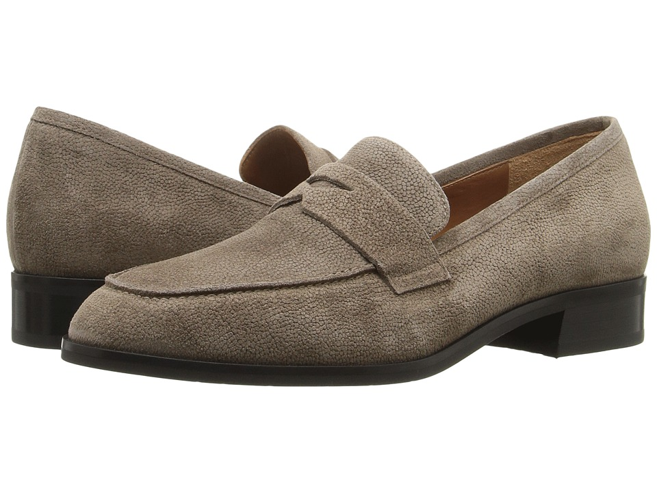 Aquatalia Sharon (Taupe Pebbled Suede) Women