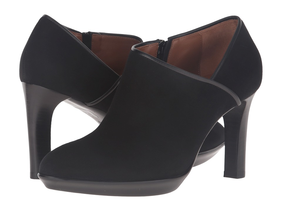 Aquatalia - Rosia (Black Suede/Calf) High Heels