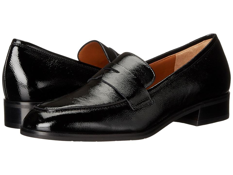 Aquatalia - Sharon (Black Naplak) Women's Slip on Shoes
