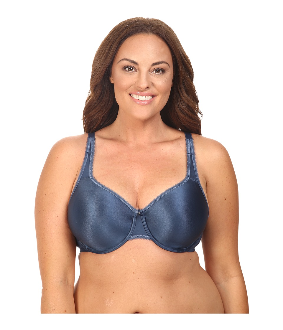 Wacoal - Basic Beauty Full Figure Underwire Bra 855192 (Dark Denim) Women's Bra