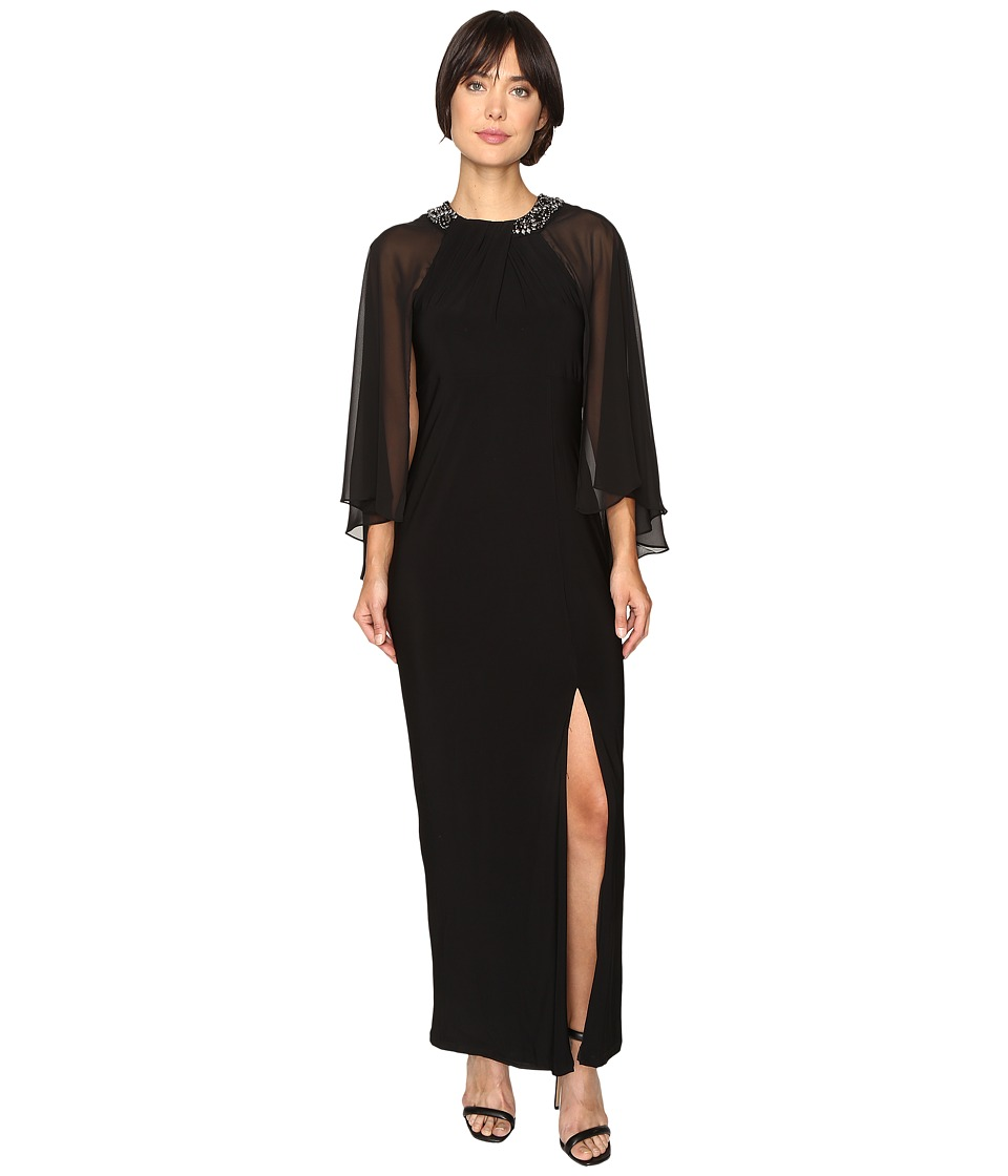 rsvp - Brighton Chiffon Dress (Black) Women's Dress