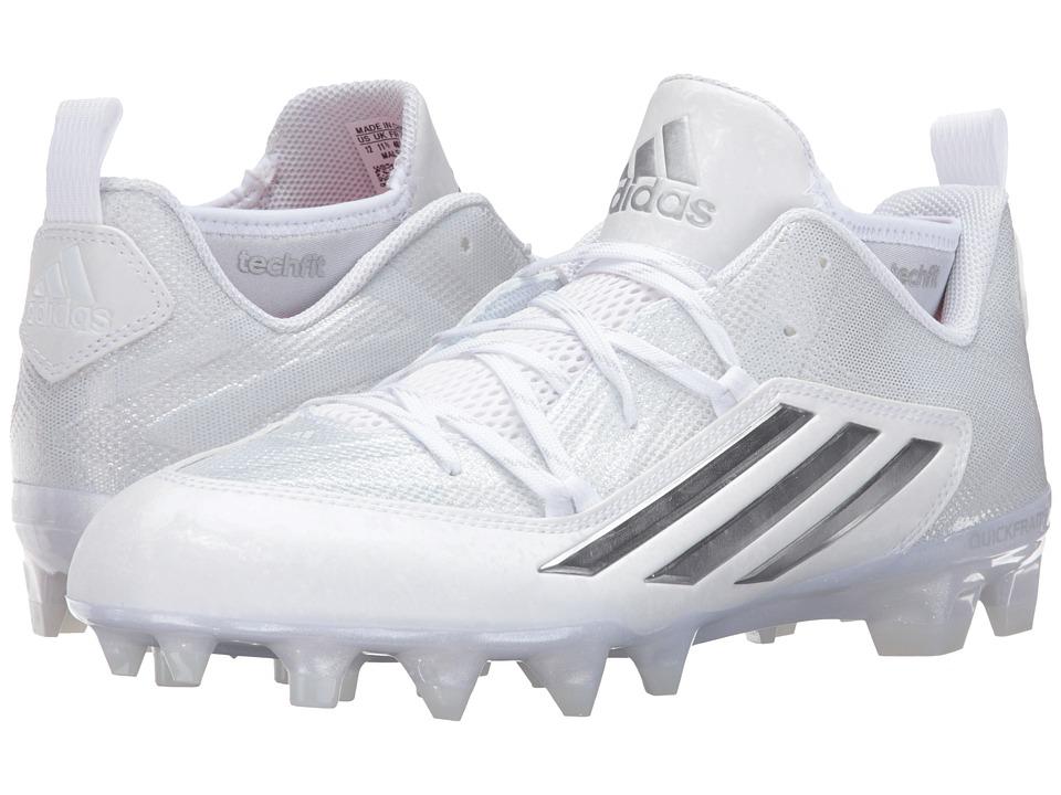 adidas - Crazyquick 2.0 (White/Platinum/White) Men's Shoes