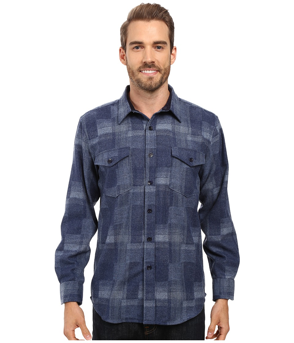 Pendleton - Boro Shirt (Blue) Men's Long Sleeve Button Up