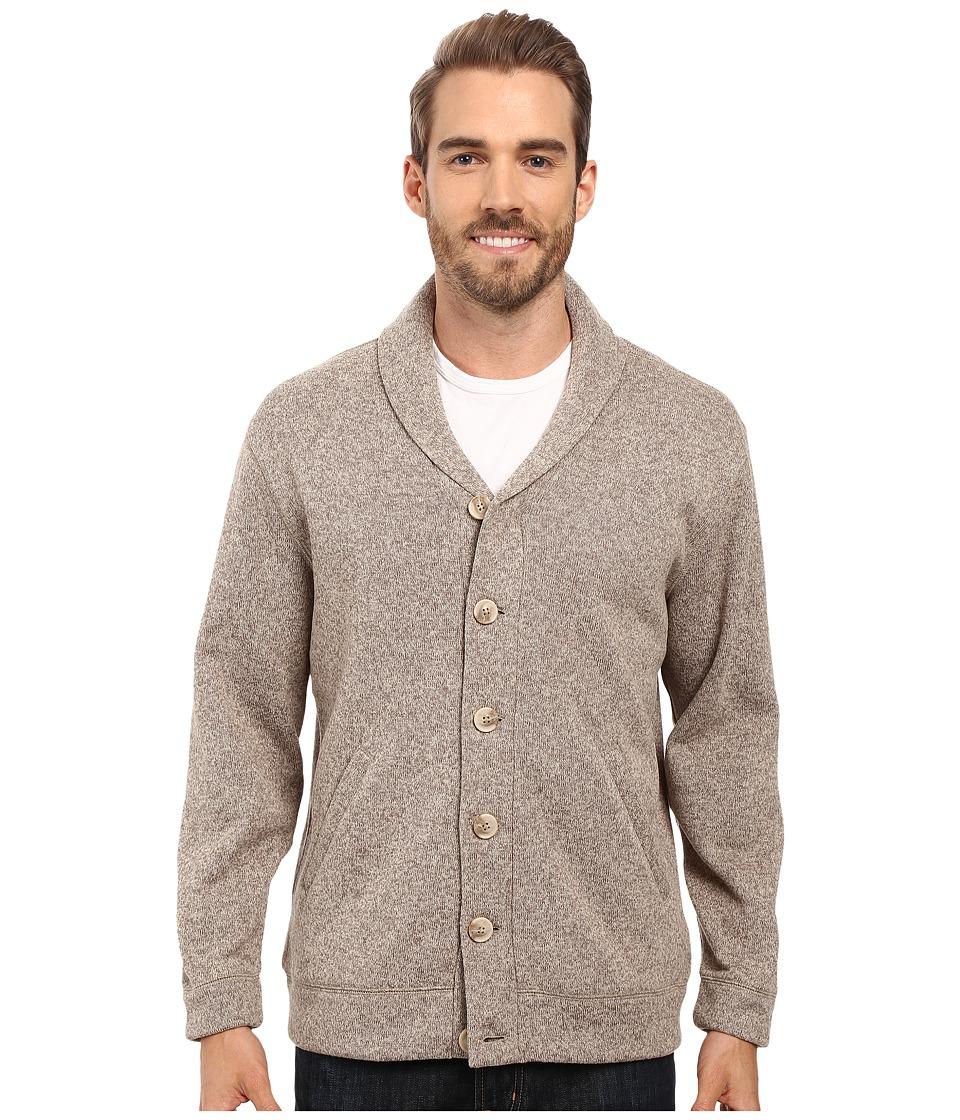 Pendleton - Willamette Cardigan (Tan Heather) Men's Sweater