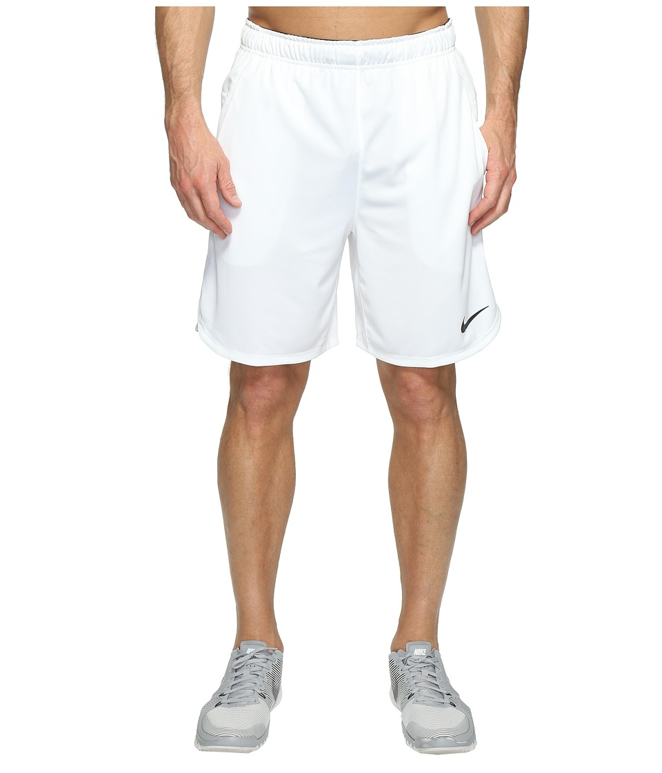 Nike - Dry 8 Training Short (White/Pure Platinum/Black) Men's Shorts