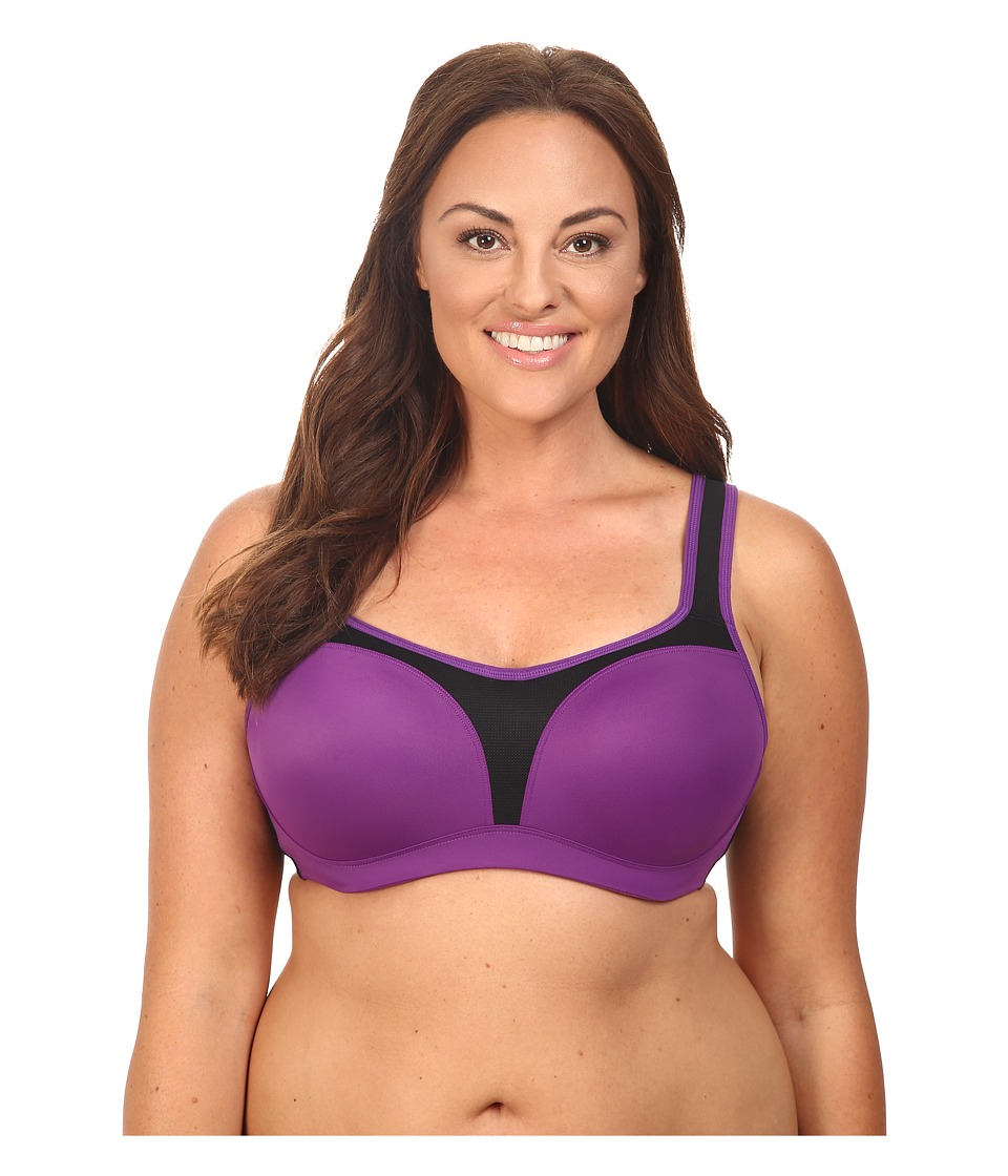 Wacoal - Sport Contour (Purple Magic/Black) Women's Bra
