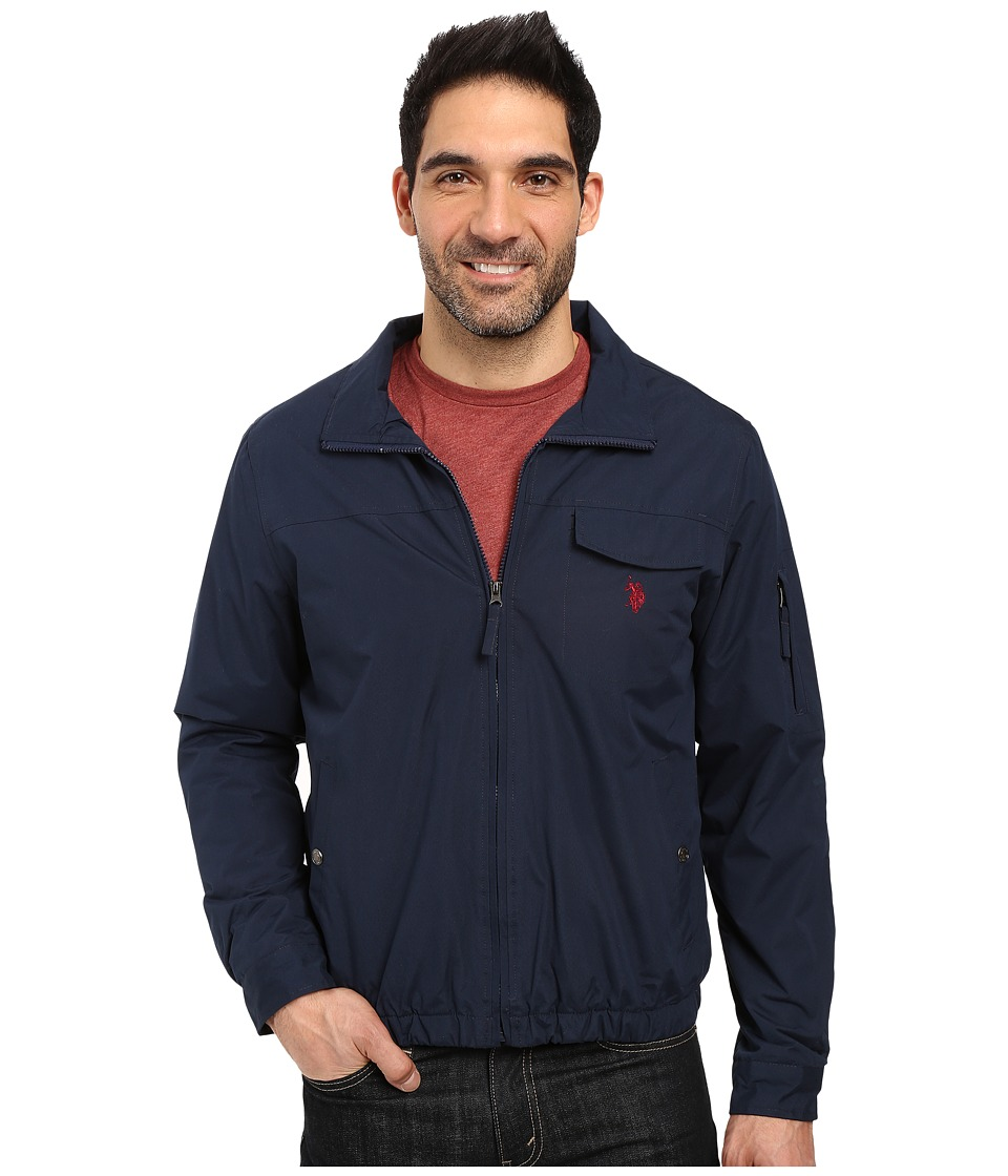 U.S. POLO ASSN. Zip-Up Fleece Jacket (Classic Navy) Men