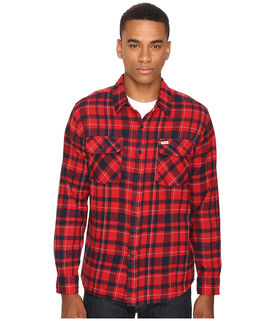 Captain Fin - Genuine Flannel (Red) Men's Clothing