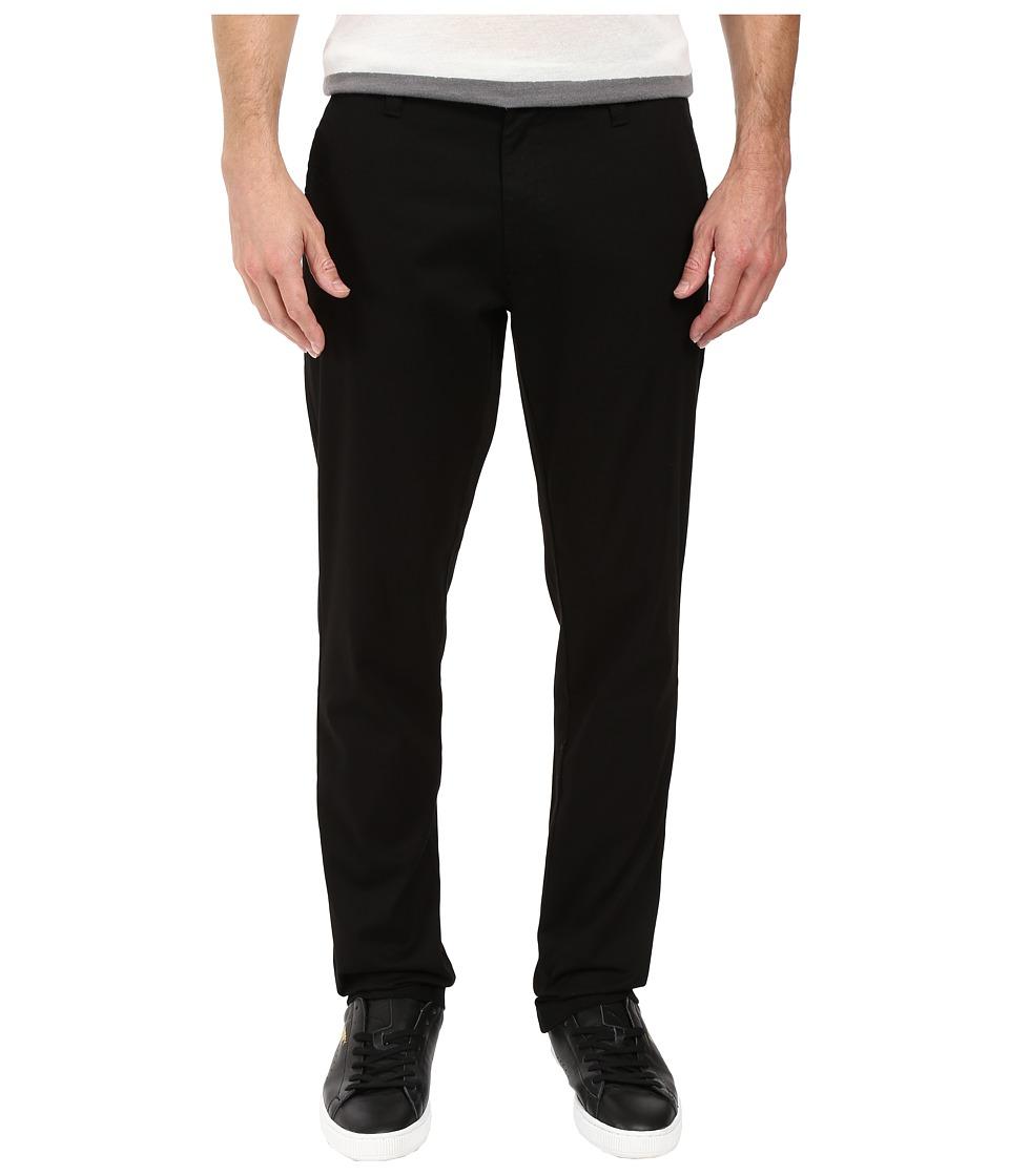 Captain Fin - Trousa Pants (Black) Men's Casual Pants
