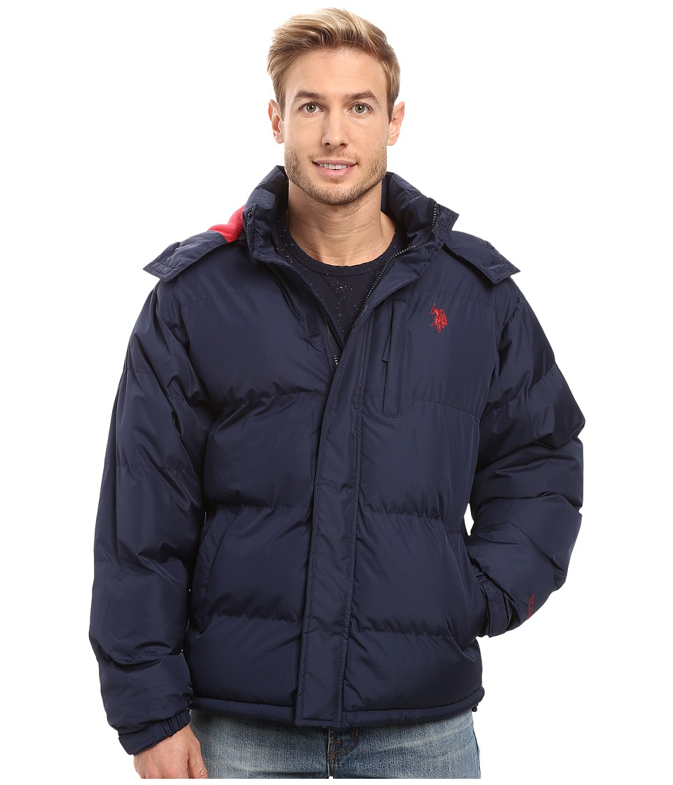 U.S. POLO ASSN. - Classic Short Bubble Jacket (Classic Navy) Men's Coat