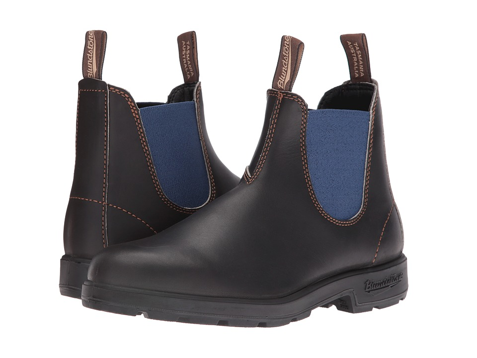 Blundstone - 578 (Stout Brown/Pale Blue) Boots