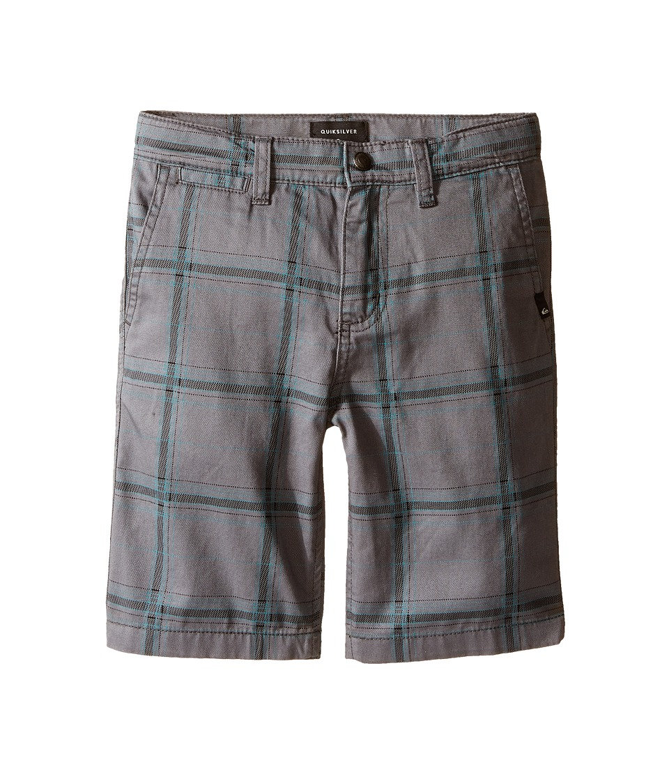 Quiksilver Kids - Double Plus Shorts (Little Kids) (Quiet Shade) Boy's Shorts