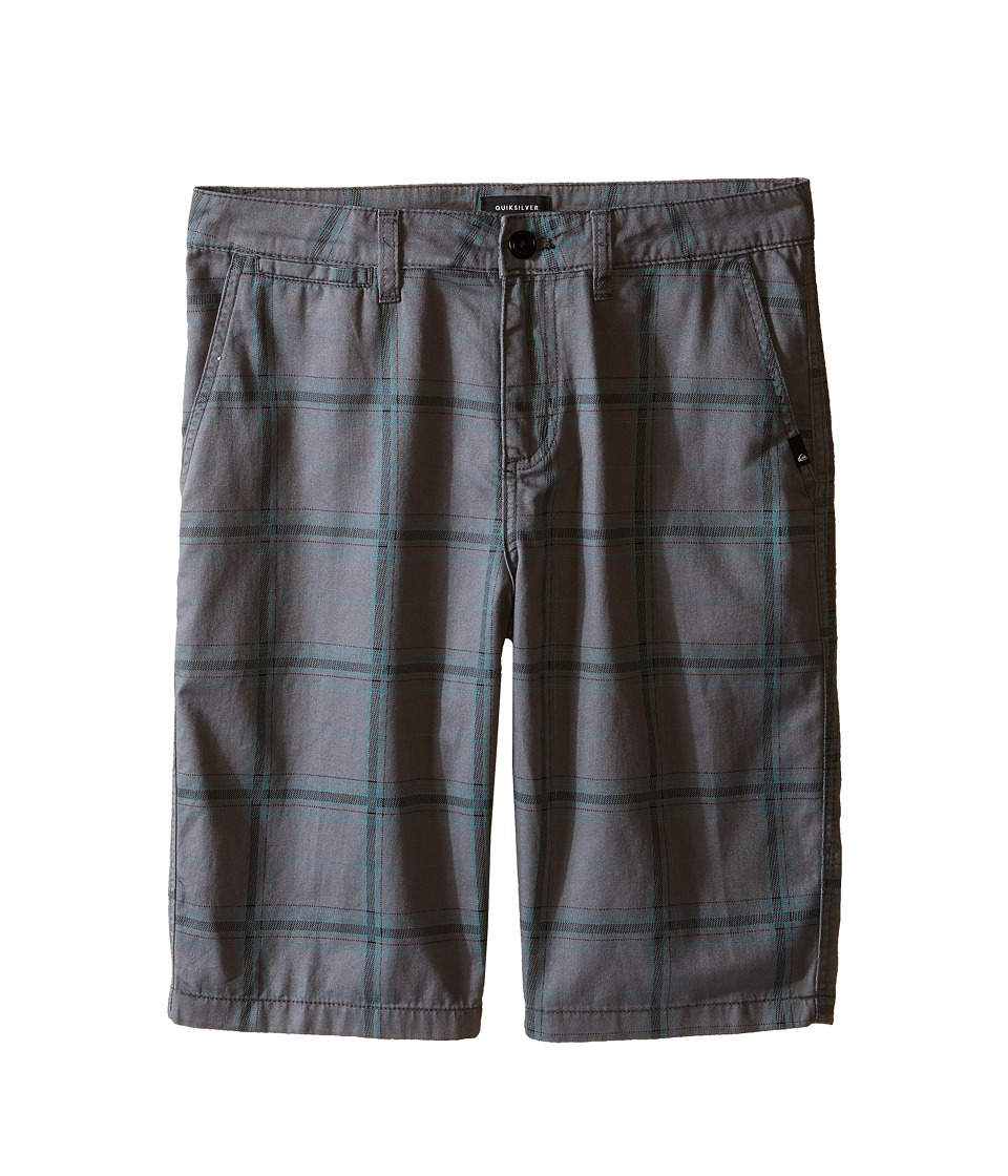 Quiksilver Kids - Double Plus Shorts (Big Kids) (Quiet Shade) Boy's Shorts