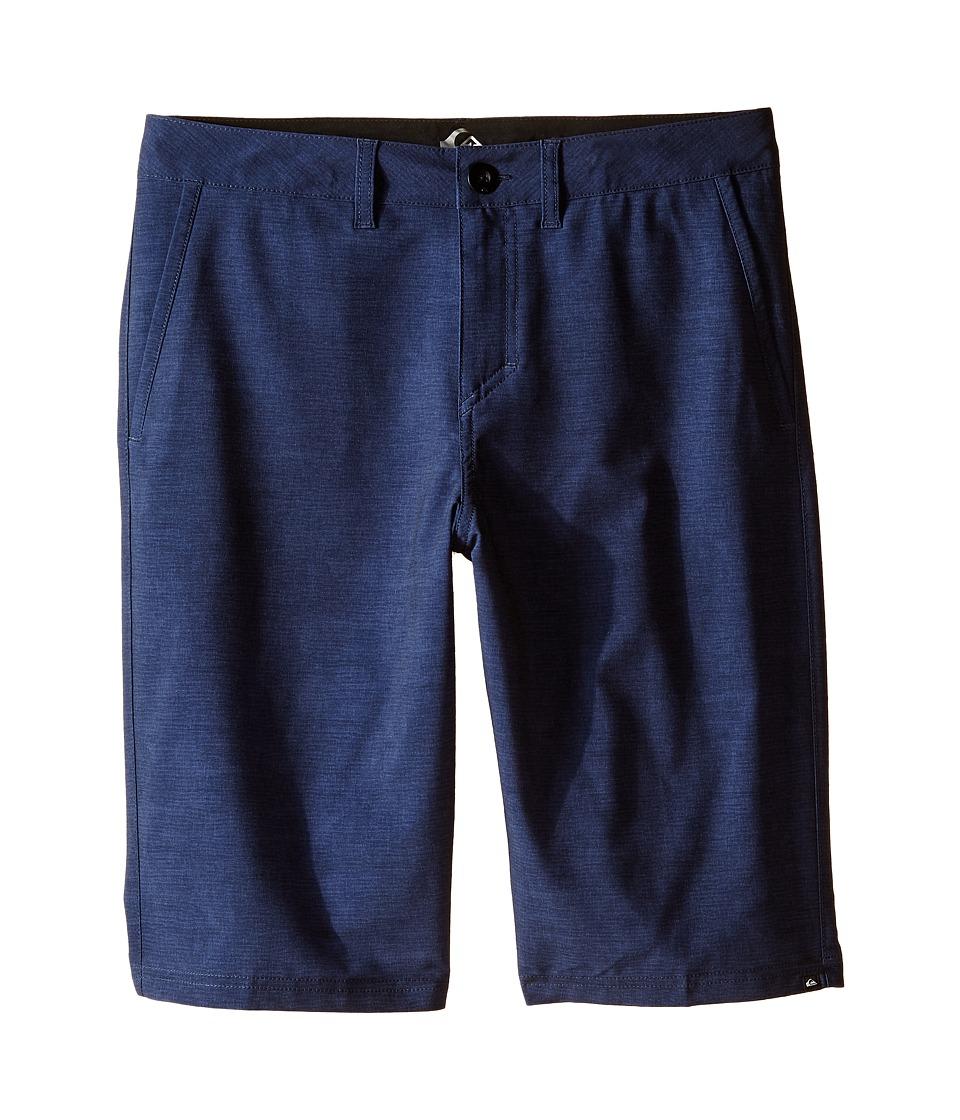 Quiksilver Kids - Platypus Amphibian Shorts (Big Kids) (Navy Blazer) Boy's Shorts