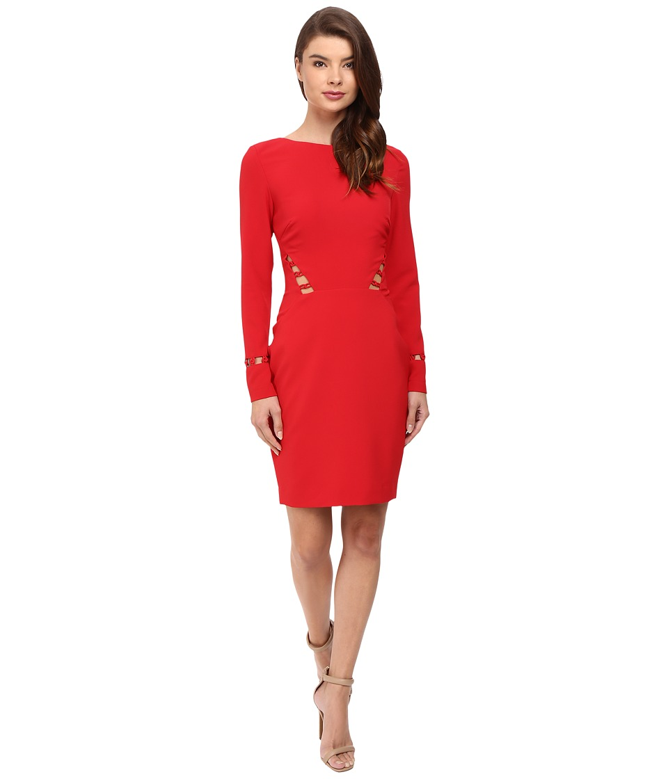 Nicole Miller Lane Loop Dress (Lipstick Red) Women
