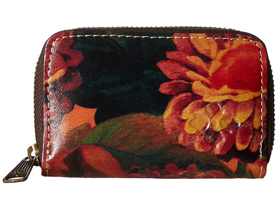 Patricia Nash - Abri Zip Around Key Fob (Heritage Multi) Wallet