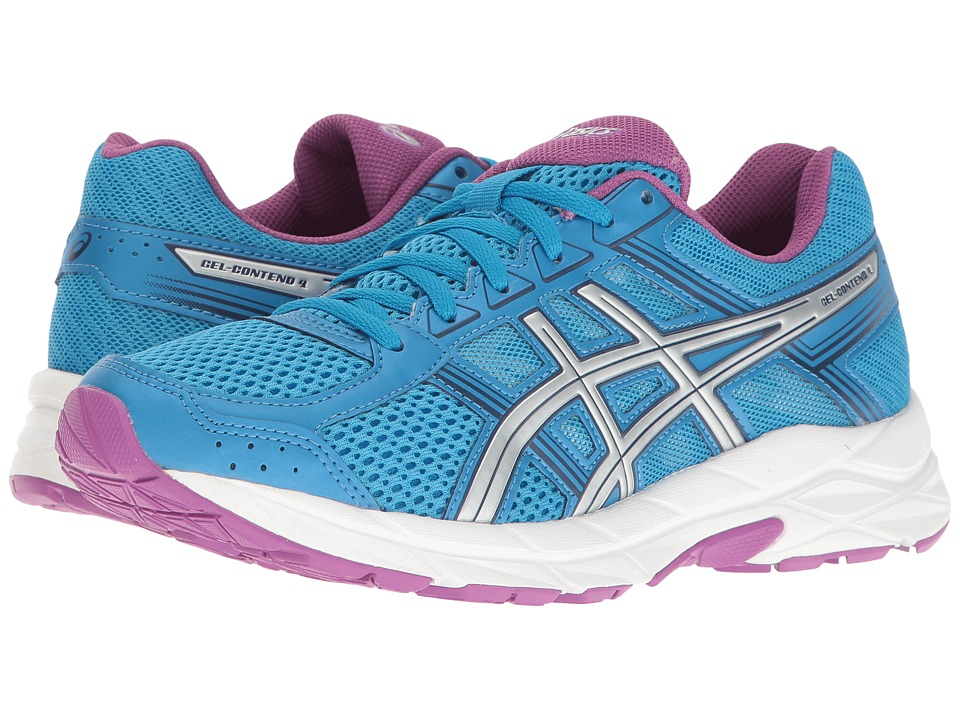 ASICS - GEL-Contend 4 (Diva Blue/Silver/Orchid) Women's Running Shoes