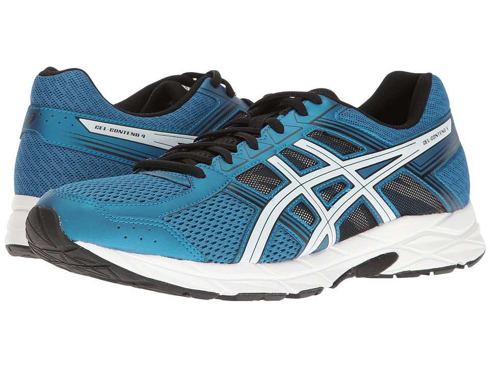 ASICS - GEL-Contend 4 (Thunder Blue/White/Black) Men's Running Shoes