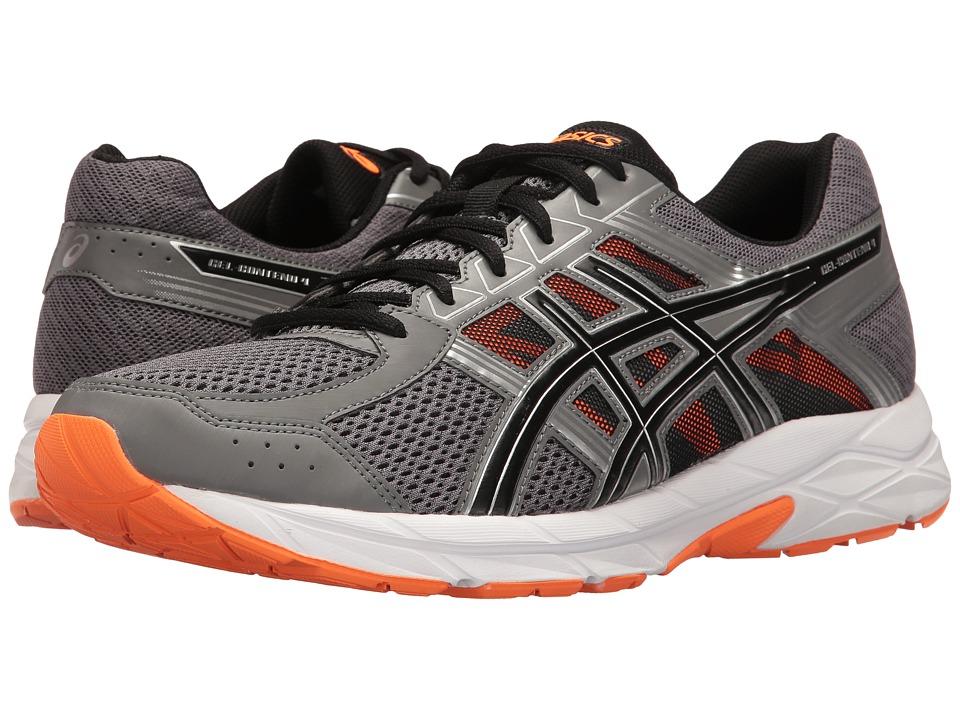 ASICS - GEL-Contend 4 (Carbon/Black/Hot Orange) Men's Running Shoes