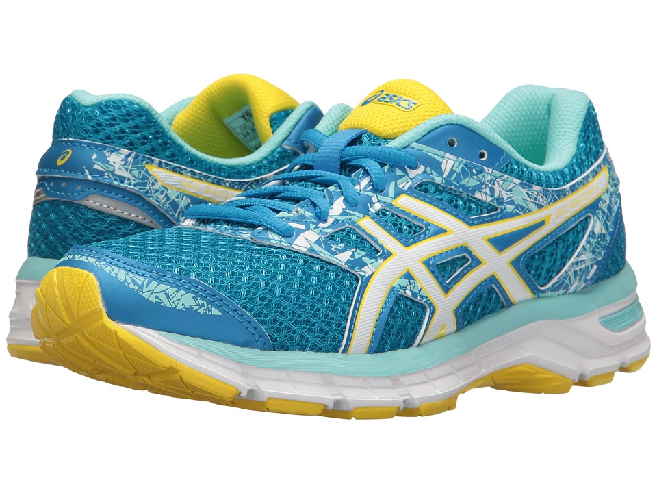 ASICS - Gel-Excite 4 (Diva Blue/White/Sun) Women's Running Shoes