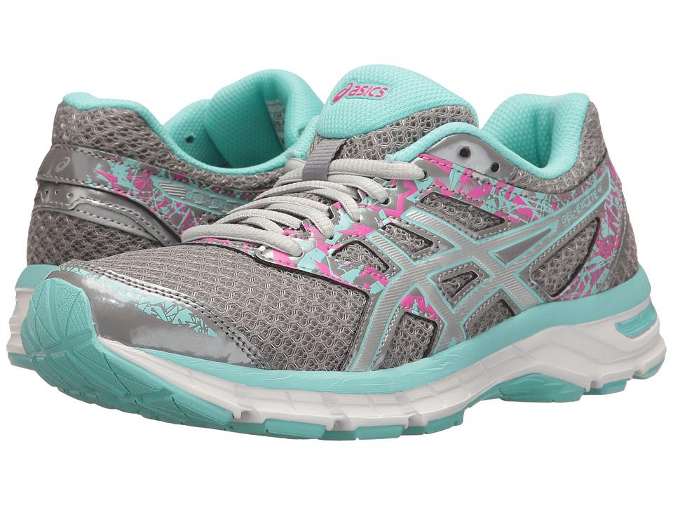 ASICS - Gel-Excite 4 (Aluminum/Silver/Aqua Splash) Women's Running Shoes