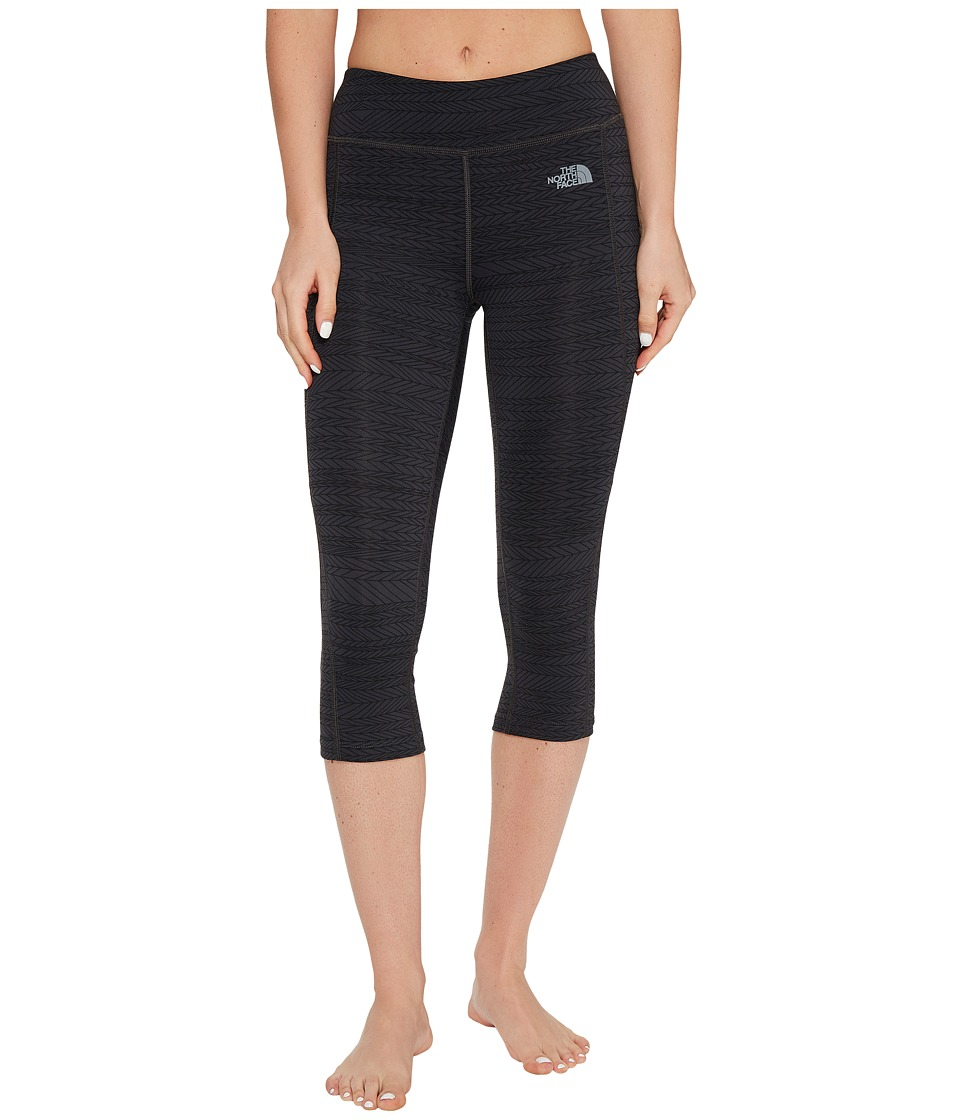 The North Face - Pulse Capri Tight (TNF Black Mountain Moose Print (Prior Season)) Women's Capri