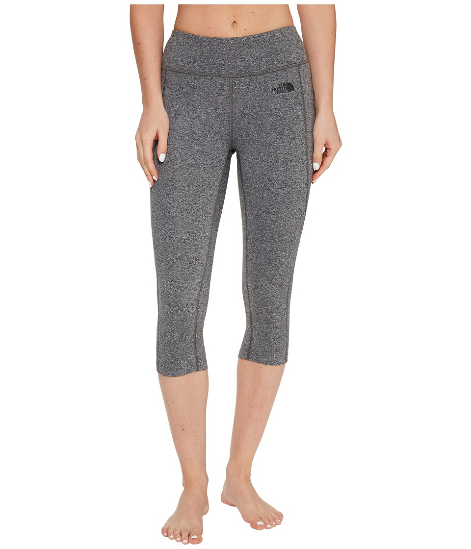 The North Face Pulse Capri Tight (TNF Medium Grey Heather (Prior Season)) Women
