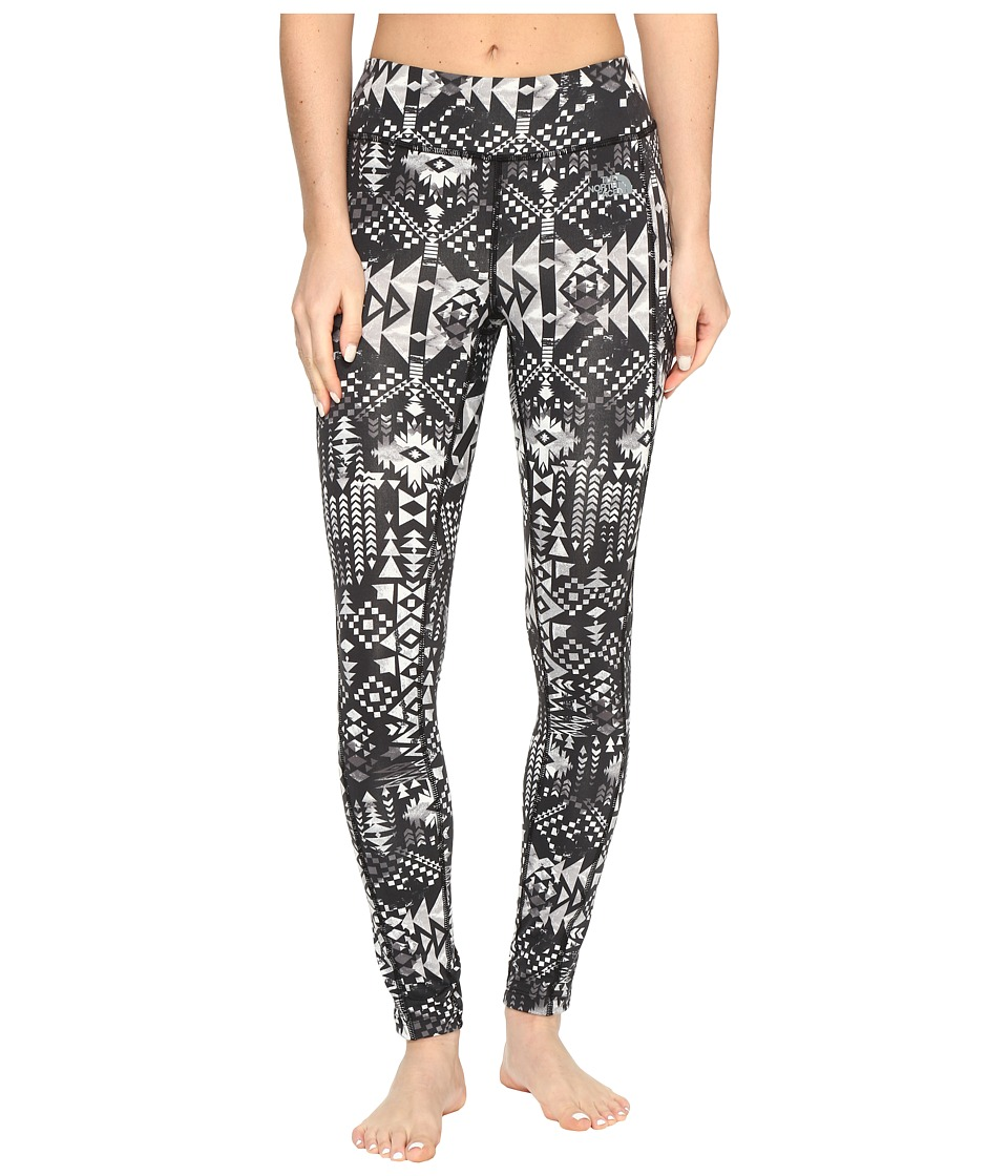 The North Face - Pulse Tight (TNF Black Boho Al Over Print (Prior Season)) Women's Workout