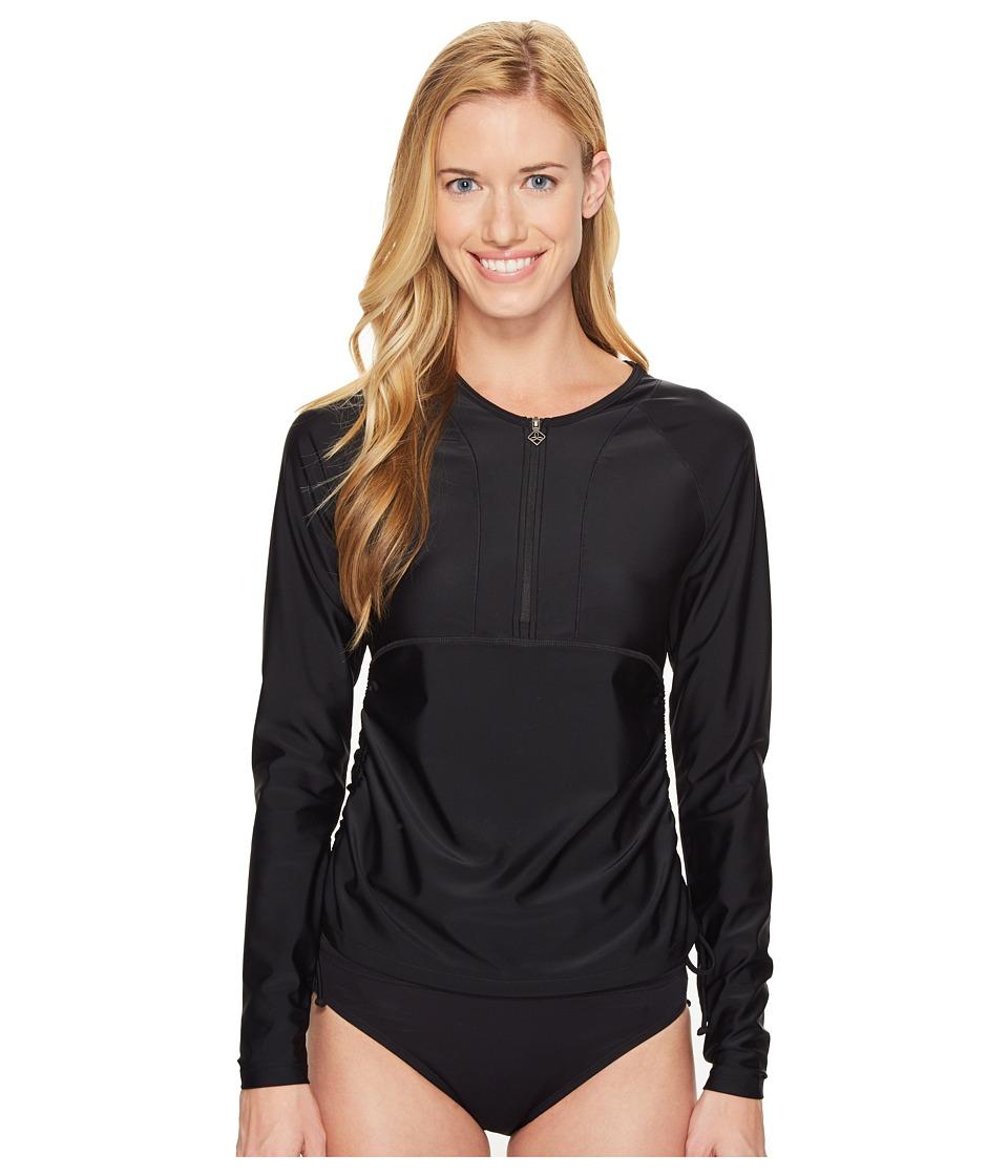 Prana - Arwyn Sun Top (Black) Women's Swimwear