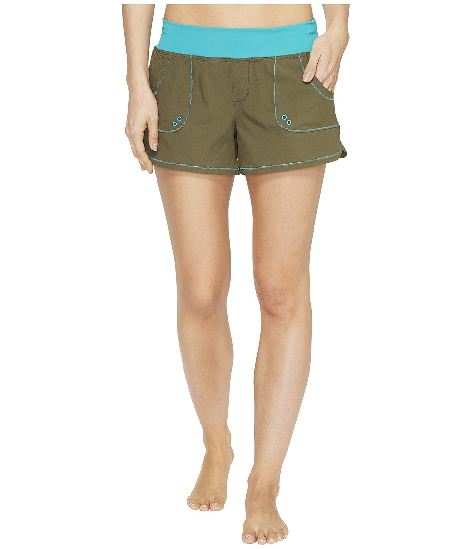 Prana - Millie Boardshort (Cargo Green) Women's Swimwear