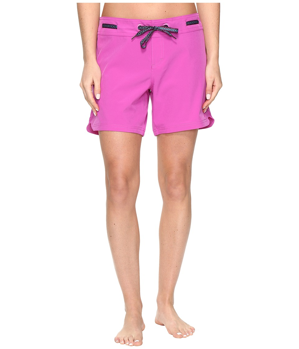 Prana - Silvana Boardshort (Orchid Bloom) Women's Swimwear