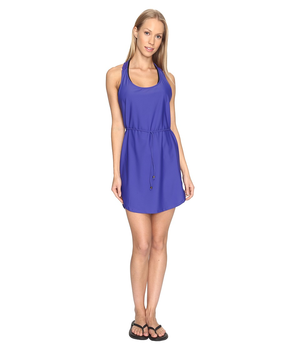 Prana - Eisley Tunic Cover-Up (Cobalt) Women's Swimwear
