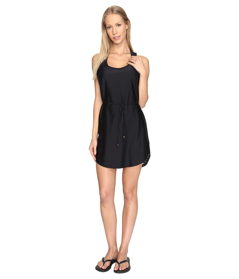 Prana - Eisley Tunic Cover-Up (Solid Black) Women's Swimwear