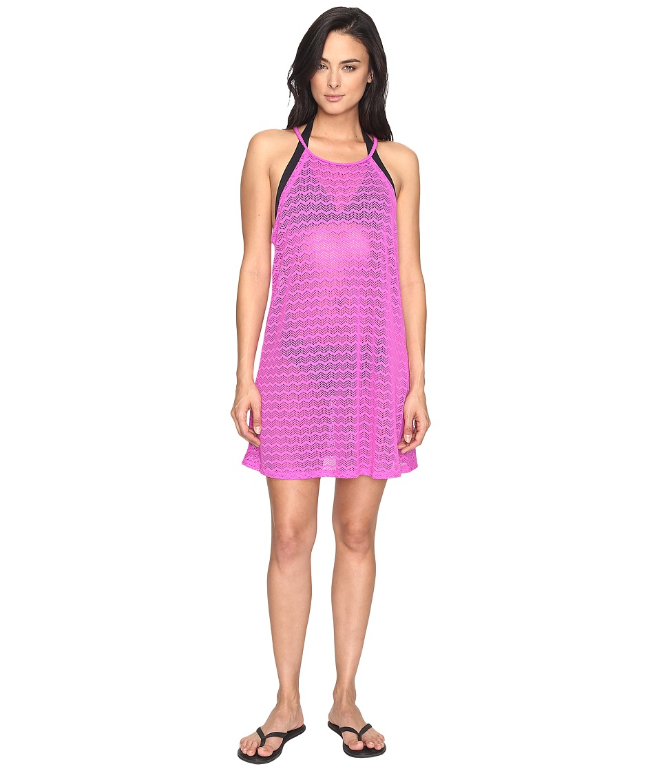 Prana - Page Dress Cover-Up (Orchid Bloom) Women's Swimwear