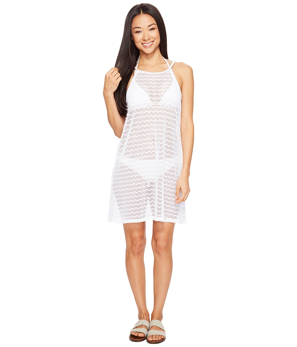 Prana Page Dress Cover-Up (White) Women